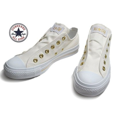 コンバース CONVERSE オールスター スリップ III OX オフホワイトゴールド スニーカー メンズレディース 靴
