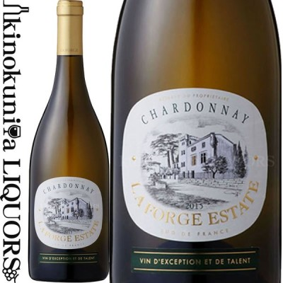ラ フォルジュ エステイト シャルドネ [2019] 白ワイン 辛口 750ml フランス ラングドック ルーシヨン I.G.P. ドメーヌ ポール マス La Forge Estate Chardonnay