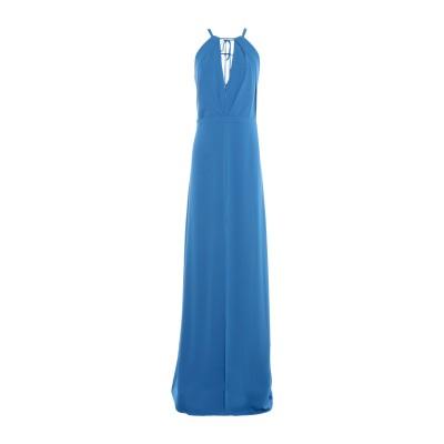 ホルストン・ヘリテージ HALSTON ロングワンピース&ドレス アジュールブルー 8 ポリエステル 100% ロングワンピース&ドレス