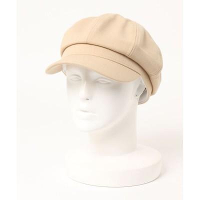 SPINNS / ツイル素材 8パネルキャスケット WOMEN 帽子 > キャスケット
