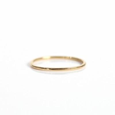 イロンデール エペパン hirondelle et pepin / k18 hr-477 角プレーン リング S レディース 指輪 ギフト プレゼント 記念日 アクセサリー