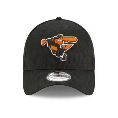 ニューエラ 帽子 アクセサリー メンズ Baltimore Orioles   Clubhouse 39THIRTY Cap Black