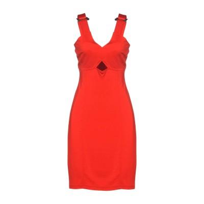 VERSACE ミニワンピース&ドレス レッド 46 95% レーヨン 5% ポリウレタン ミニワンピース&ドレス