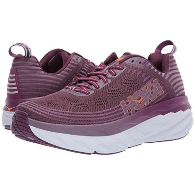 Hoka One One Bondi 6 レディース スニーカー Arctic Dusk/Grape Juice