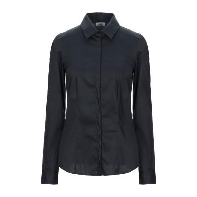 リュー ジョー LIU •JO シャツ ブラック 42 コットン 68% / ナイロン 29% / ポリウレタン 3% シャツ
