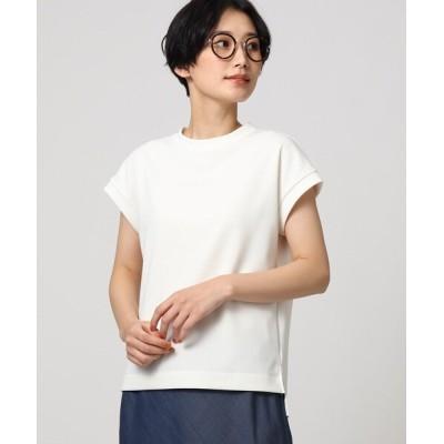 tシャツ Tシャツ 「L」【洗える】テックリノジャージフレンチTシャツ