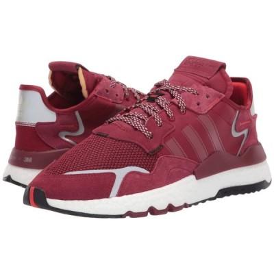 アディダス adidas Originals メンズ スニーカー シューズ・靴 Nite Jogger Collegiate Burgundy/Collegiate Burgundy/Footwear White