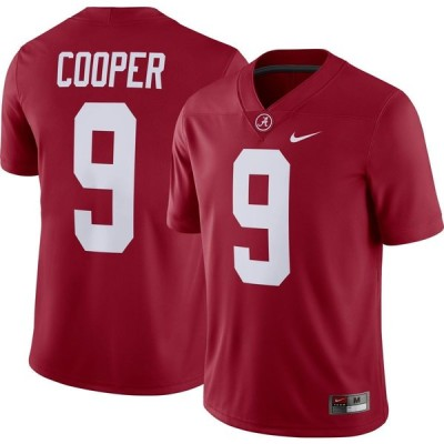ナイキ Nike メンズ トップス ドライフィット Amari Cooper Alabama Crimson Tide #9 Crimson Dri-FIT Game Football Jersey