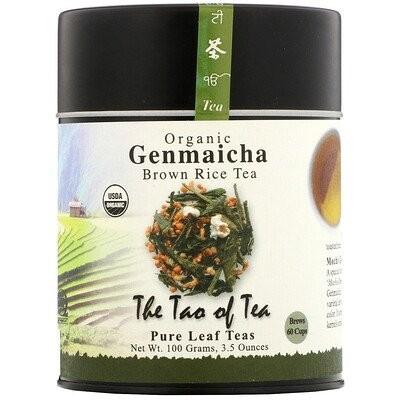 Organic Genmaicha, Brown Rice Tea , 3.5 oz (100 g)