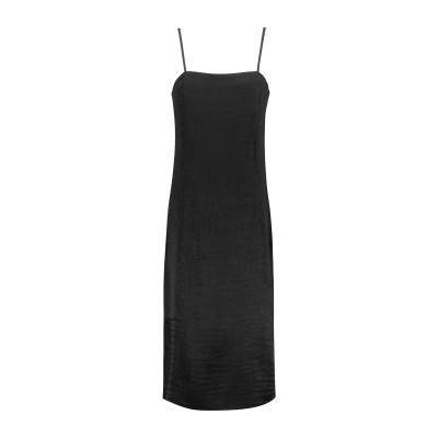 ティビ TIBI 7分丈ワンピース・ドレス ブラック 00 アセテート 51% / ポリエステル 49% 7分丈ワンピース・ドレス