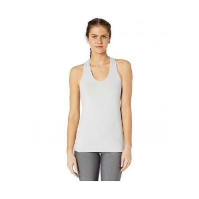 X by Gottex レディース 女性用 ファッション トップス シャツ Fitted Racerback Tank Top - Cool Grey