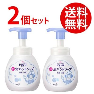 【2個セット】ハンドソープ 花王 ビオレu 薬用 泡ハンドソープ ポンプ マイルドシトラスの香り 250ml