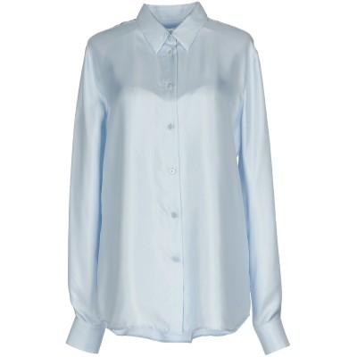 メゾン マルジェラ MAISON MARGIELA シャツ スカイブルー 40 シルク 100% シャツ