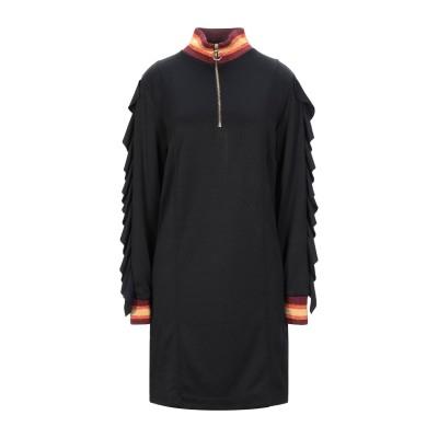 ジジル JIJIL ミニワンピース&ドレス ブラック 38 ポリエステル 83% / コットン 17% ミニワンピース&ドレス