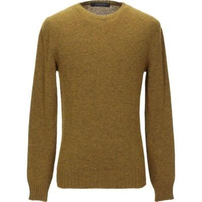 メッサジェリエ MESSAGERIE メンズ ニット・セーター トップス sweater Military green