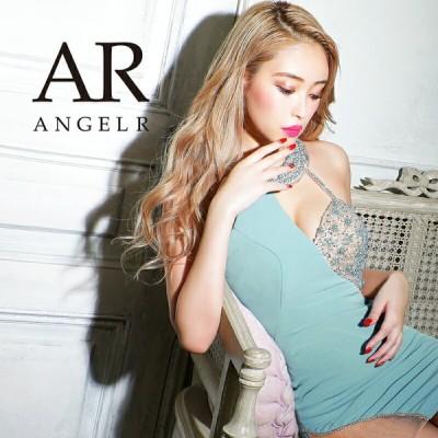 AngelR エンジェルアール アシンメトリーバストビジュータイトミニドレス AR21306