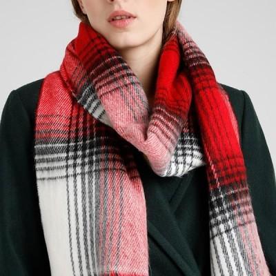 トップショップ レディース スカーフ CREAM CLASSIC CHECK - Scarf - red