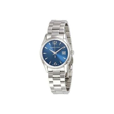 ハミルトン 腕時計 Hamilton Jazzmaster レディース ブルー ダイヤル レディース 腕時計 H32351145