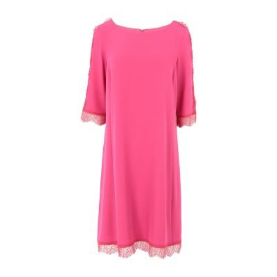 ブルマリン BLUMARINE ミニワンピース&ドレス フューシャ 44 ポリエステル 95% / ポリウレタン 5% ミニワンピース&ドレス