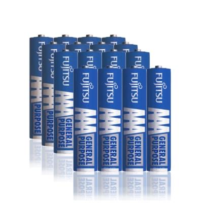 FUJITSU 日本富士通 藍版能量4號AAA碳鋅電池(16顆入) R03 F-GP