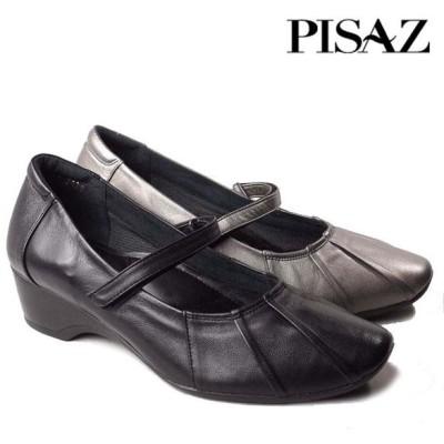 PISAZ 2136 ピサ 本革ストラップパンプス