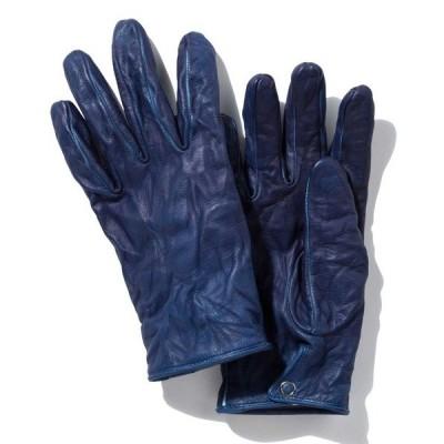 手袋 【SoH 5Days】染SEN 製品染めグローブ(TRAD) 手袋 レザー