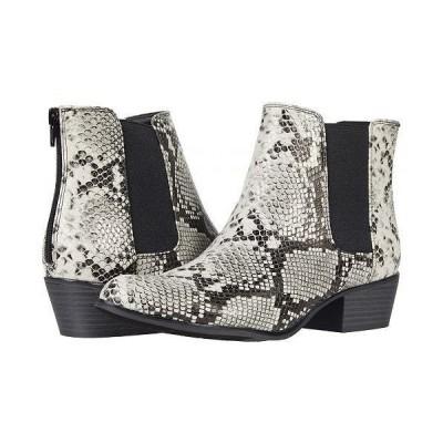 Esprit エスプリット レディース 女性用 シューズ 靴 ブーツ チェルシーブーツ アンクル Tylee - Black/Grey Snake