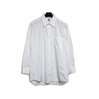 ランバン LANVIN 長袖シャツ サイズ41-82 メンズ - 白【中古】20201212