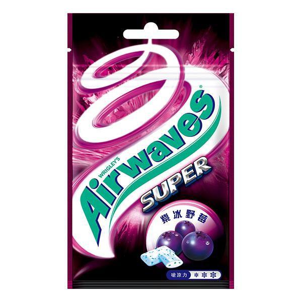 Airwaves極酷嗆涼-紫冰野莓(袋)【康是美】