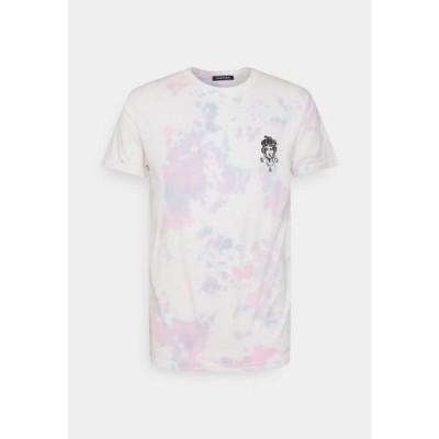 メンズ ファッション TIE DYE JELLYFISH UNISEX - Print T-shirt - pink