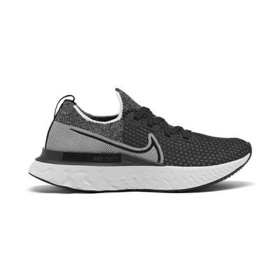 ナイキ スニーカー シューズ レディース Women's React Infinity Run Flyknit Running Sneakers from Finish Line Black, White