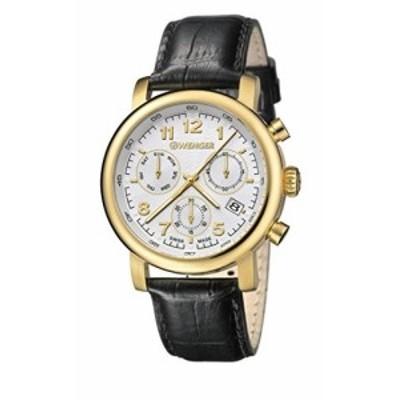 Wenger Men &aposs Urban Classic Chrono Watch 01.1043.106ホワイト