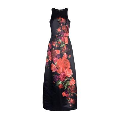 シルビアンヒーチ SILVIAN HEACH ロングワンピース&ドレス ブラック M ポリエステル 100% ロングワンピース&ドレス