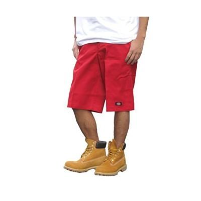 [ディッキーズ] 13インチ ルーズ フィット マルチ ポケット ワークショーツ 男性用 メンズ 30 レッド [並行輸入?