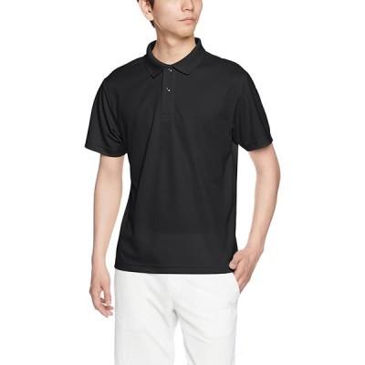 (ユナイテッドアスレ)UnitedAthle 4.1オンス ドライ アスレチック ポロシャツ 591001 [メンズ] 002 ブラック L