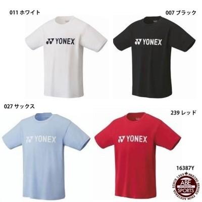 【ヨネックス】Tシャツ 半袖/テニスウェア/バドミントンウェア/YONEX(16387Y)