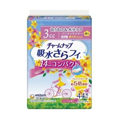 チャームナップ 吸水さらフィ コンパクト 3cc ローズの香り ( 44枚入 )/ チャームナップ