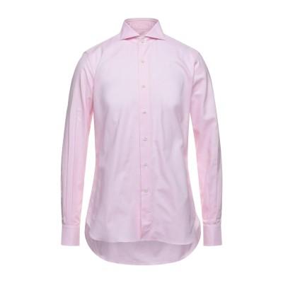 ORIAN シャツ ピンク 41 コットン 100% シャツ