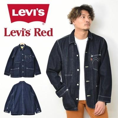 Levi's リーバイス Levi's RED エンジニアコート カバーオール ワークジャケット デニムハーフコート メンズ 送料無料 A0146-0000 A01460000
