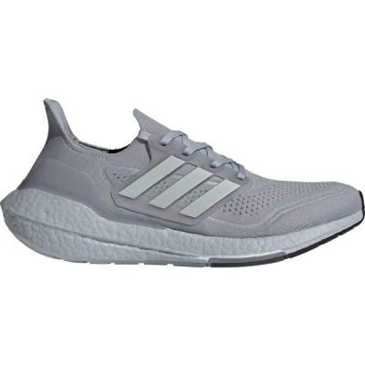 アディダス シューズ メンズ ランニング adidas Men's Ultraboost 21 Running Shoes Grey/Yellow