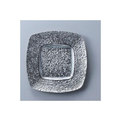 角皿 21cm角皿 SLV/21.0×H2.2cm (内寸 11.7×11.7cm)/業務用/新品