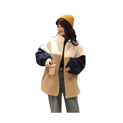 レディース ボアジャケットフリースジャケットボアコートアウターコート ジャンパー ジャケットもこもこ防寒