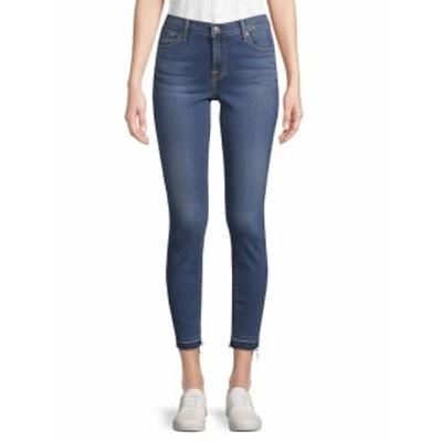 7 フォー オールマンカインド レディース パンツ デニム Whiskered Cropped Jeans