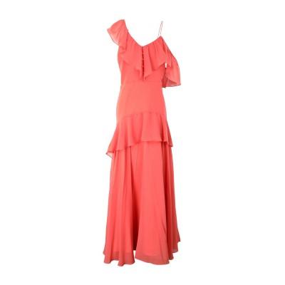 TRUE DECADENCE ロングワンピース&ドレス コーラル 8 ポリエステル 100% ロングワンピース&ドレス
