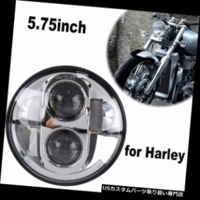 """バイク ヘッドライト 5.75 """"ハーレーのヘッドライトのための5 3/4インチのオートバイのヘッドライト40W LED円形H4  5.75"""" 5 3/4 Inch Mo"""