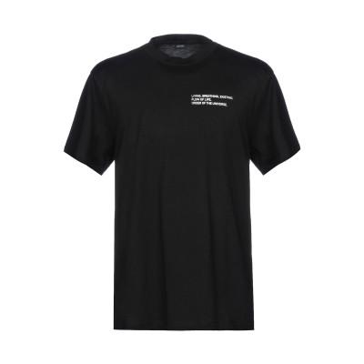 イタリア・インディペンデント ITALIA INDEPENDENT T シャツ ブラック S 100% コットン T シャツ