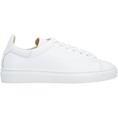 デュカルス DOUCAL'S スニーカー&テニスシューズ(ローカット) ホワイト 36 革 スニーカー&テニスシューズ(ローカット)