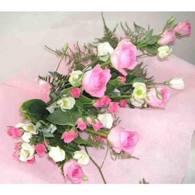 ロジータベンデラ・ピンク色バラの花束