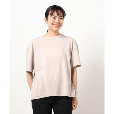 tシャツ Tシャツ ◇【HAVERSACK】スーピマコットンスムースTシャツ WOMEN