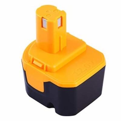 Enermall 互換 リョービ Ryobi 12v B-1203F2 B-1203M1 バッテリー互換 電池パック対応 3000mAh B-1203C B-1203M1 B-1203F3 BPL-1220 B-12